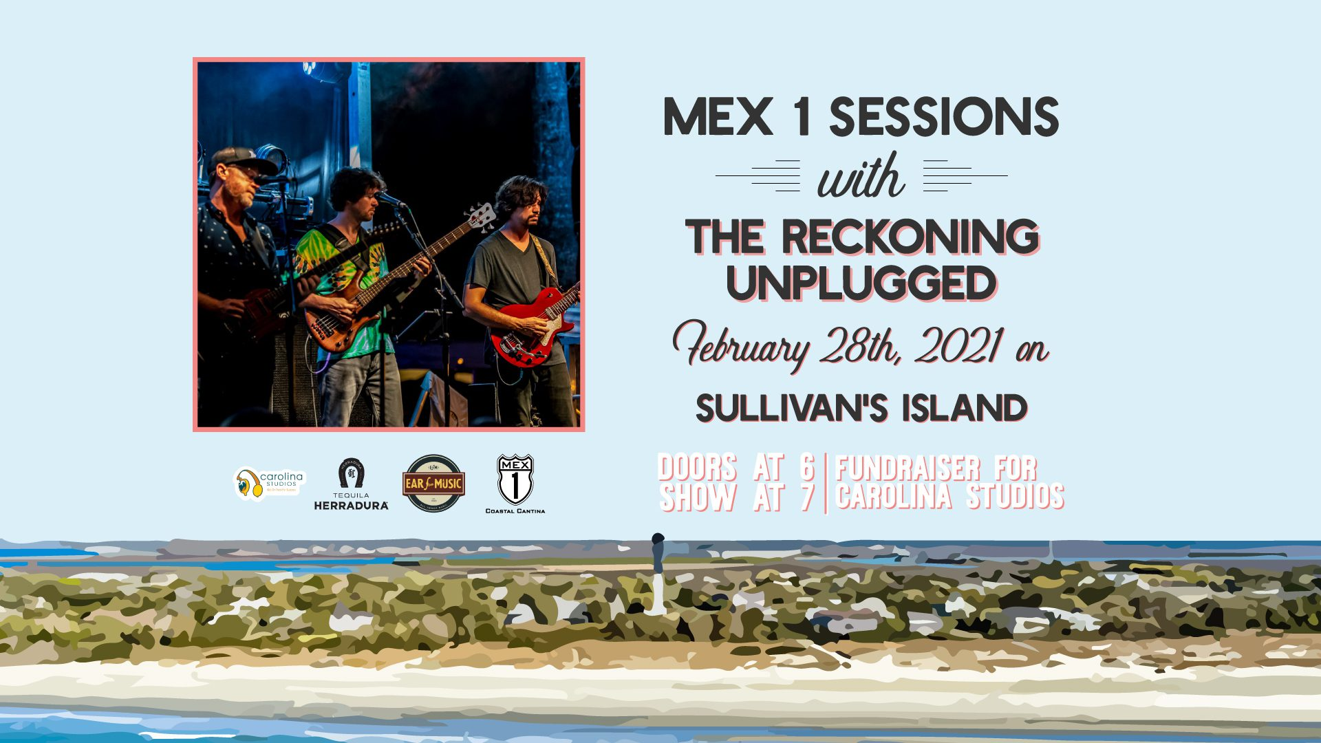Mex 1 Sessions with the Reckoning Unplugged Sunday, February 28th