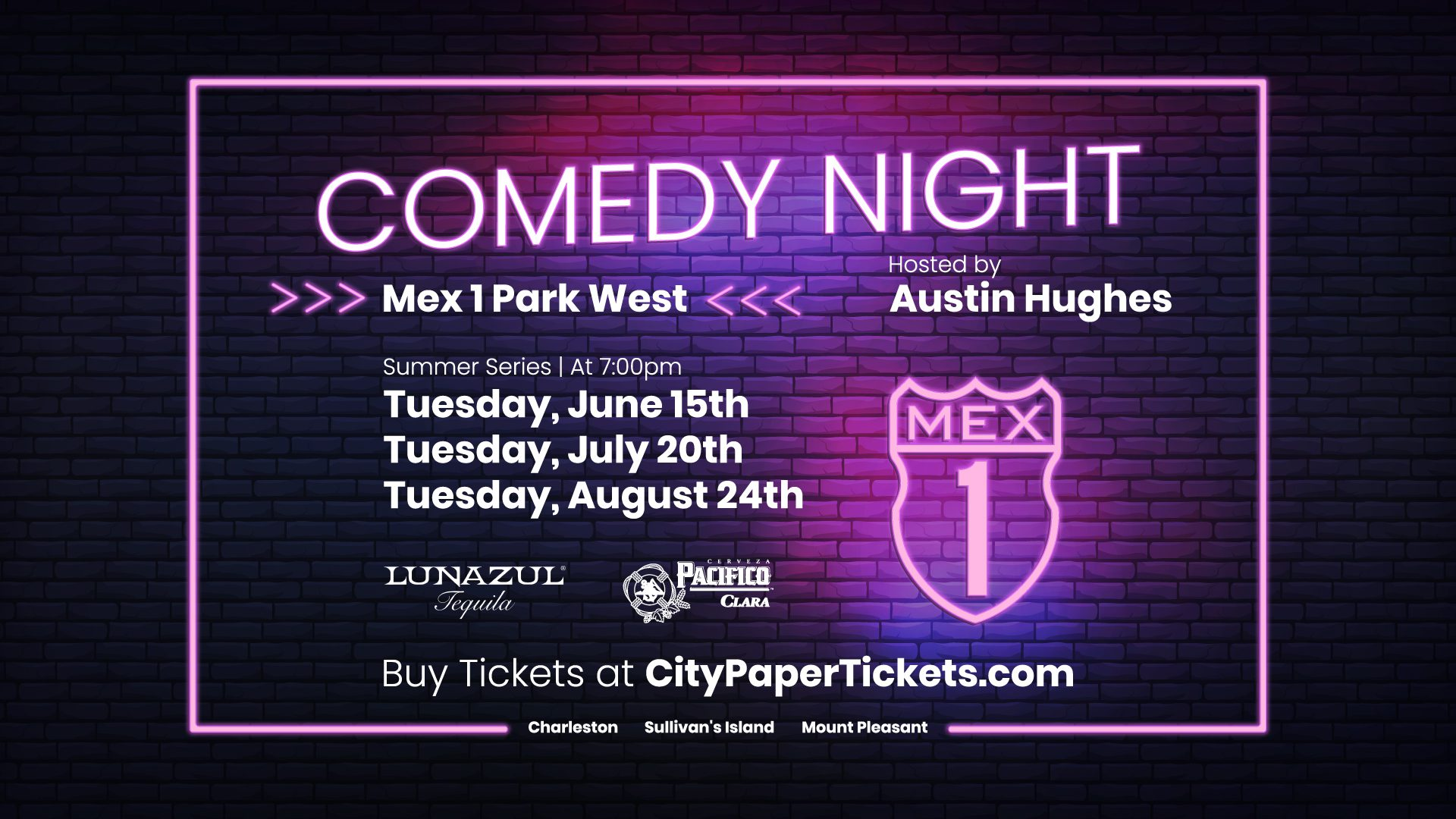 Comedy Night at Mex1 Park West